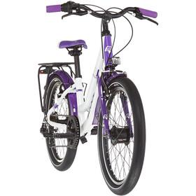 s'cool chiX twin alloy 20 7-S Enfant, white/violett